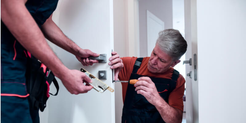 home security locks - Door Lock Boston